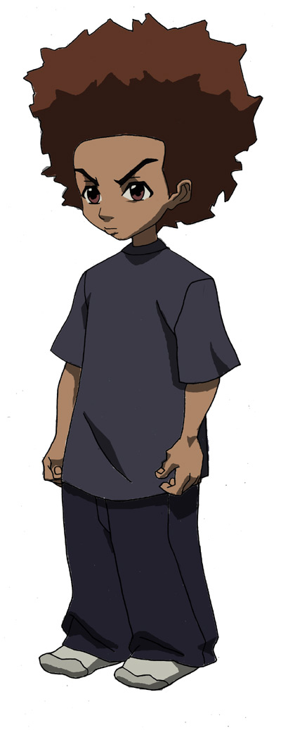 Boondocks character Huey Freeman - name after Huey Newton