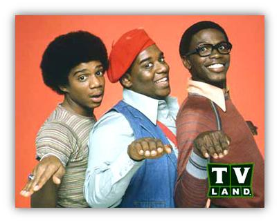 Dwayne, Rerun, Rag - from the 70's hit sitcom, What's Happening