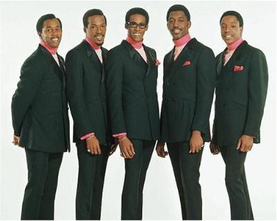 l to r: Paul Williams, Eddie Kendricks, David Ruffin, Otis Williams & Melvin Franklin ~ The Temptations